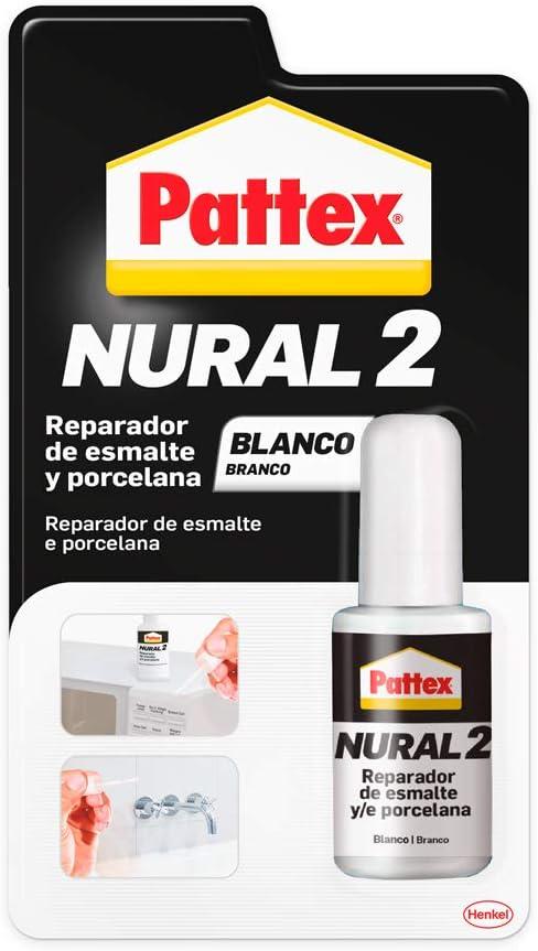 Pattex 2303633 Reparador de Esmalte y Porcelana, 1 x 50 g