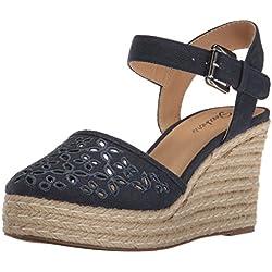 Skechers Cali Women's Turtledove Platform Sandal, Navy, 8 M US