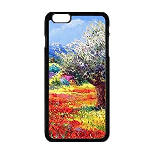 Personalized Creative Cell Phone Case For iphone 5 5s ,attractive colorful painting beauty scene