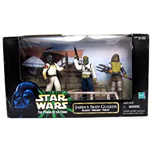 Star Wars: Power of the Force Cinema Scenes > Jabbas Skiff Guards (Klaatu, Ba...