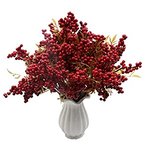 Furnily Berry Artificial Flowers 30