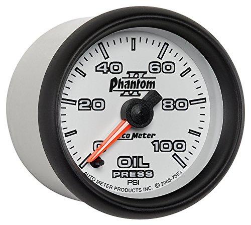 auto-meter-7553-phantom-ii-electric-oil-pressure-gauge