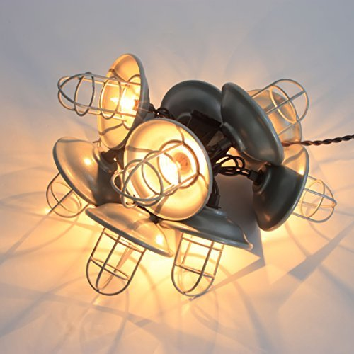 Metal Cage Outdoor String Lights - 2
