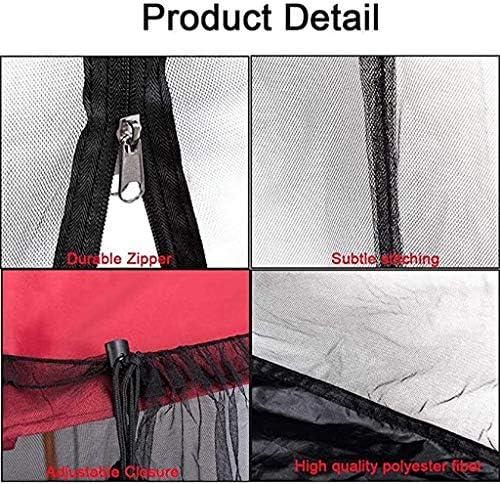 SMSJ-YJ Nouvelle Tente Shade Umbrella Net Couverture Umbrella moustiquaire for la Maison Romaine Umbrella Couverture Safe Mesh Moustiquaire Insectes Net 300x300x230cm
