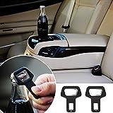 Creazy® 1PC Car safety belt clip Car Seat belt buckle Vehicle-mounted Bottle Openers