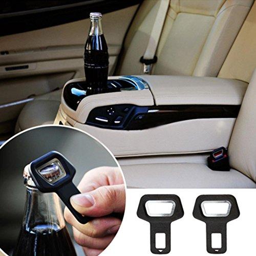 Creazy® 1PC Car safety belt clip Car Seat belt buckle Vehicle-mounted Bottle