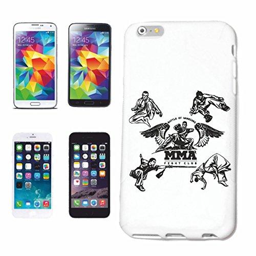 """cas de téléphone iPhone 7S """"BATAILLE DE WARRIORS FIGHT CLUB MMA ARTS IMPORTANTS MIXTES Fightclub STREET FIGHT BOXE KARATE KICK BOXING JUDO"""" Hard Case Cover Téléphone Covers Smart Cover pour Apple iPho"""