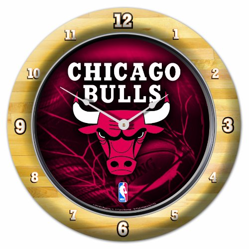 Chi Clock (NBA Chicago Bulls Game Clock, 10.75