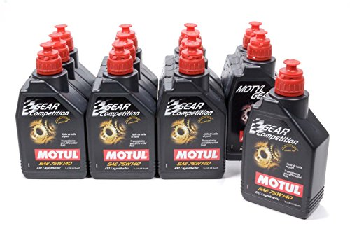 Motul 105779 75w140 Synthetic Gear Competition Oil, 1 Liter Bottle, 1 Pack