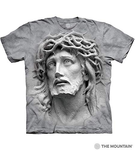 The Mountain Crown Of Thorns Adult T-Shirt, Grey, Medium