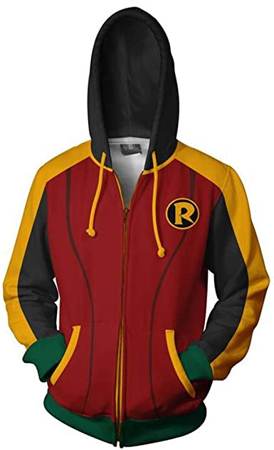 Super Hero Iron Fist Cosplay Costume 3D Printed Zipper Jacket Hoodie Sweatshirt
