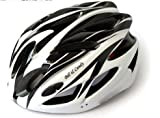 V-Share Adult Ajustable Bike helmet with Snap on/off visor in Black