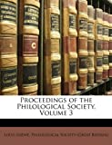 Proceedings of the Philological Society, Louis Loewe, 1147224951