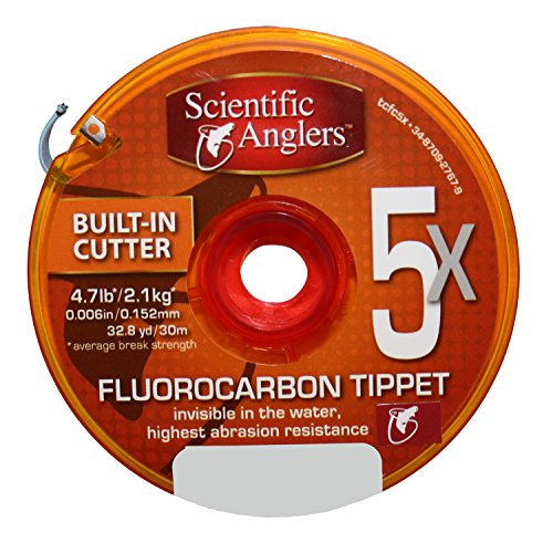 3M Scientific Anglers Premium Fluorocarbon Tippet Line, 5X