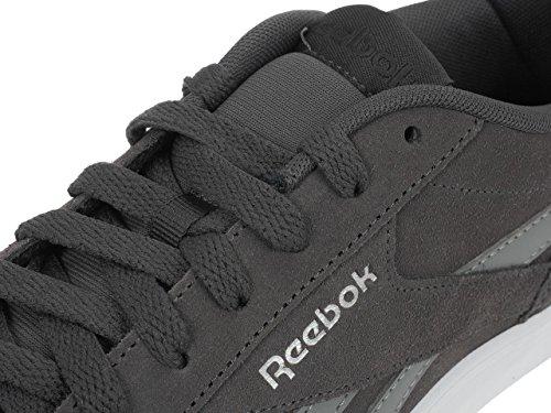 Reebok Reebok Royal Complete 2ls - Baskets, Homme, Gris - (cc-cendres Gris / Flint Gris / Stuc / Blanc / Silv)