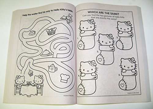 Amazon.com: Hello Kitty 288 Page Coloring & Activity Book ...