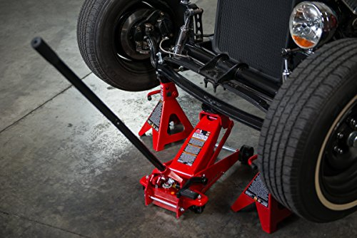 Torin Big Red Steel Jack Stand: 6 Ton Capacity, Single Jack by Torin (Image #10)