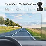 VAVA Dash Cam with Sony IMX291 Sensor, Car DVR for 1080p HD Wide-Angle Videos, with Snapshot Remote Buttons GPS Model Smartphone App WiFi Control