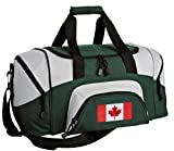 SMALL Canada Duffle Bag Canada Flag Gym Bag Large