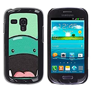 Impact Case Cover with Art Pattern Designs FOR Samsung Galaxy S3 MINI 8190 Dinosaur Cute Animal Drawing Cartoon Betty shop