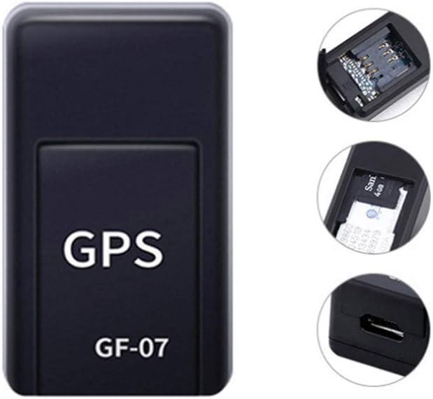 Mini GPS Tracker Magnetic,2020 Upgrade Magnetic Mini GPS Locator-ai Intelligent Noise Reduction