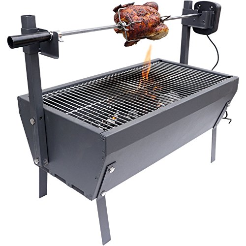 titan attachments small rotisserie chicken roaster grill