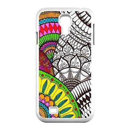 Amazon.com: DIY Samsung Galaxy S4 i9500 Caso, Mandala Aztec ...