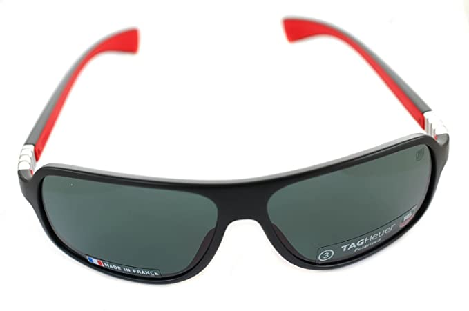 7263d8d7d3 Tag Heuer LEGEND POLARIZED TH.9304 102 - Gafas de sol de aviador de plástico