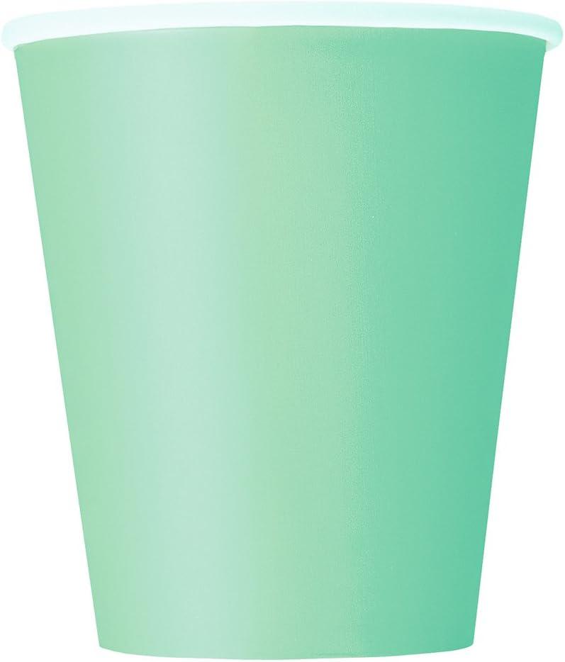 9oz Mint Paper Cups, 14ct