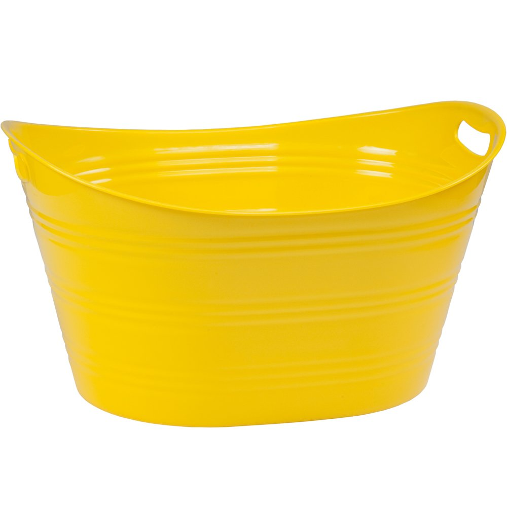 Large Party Beverage Tub Yellow