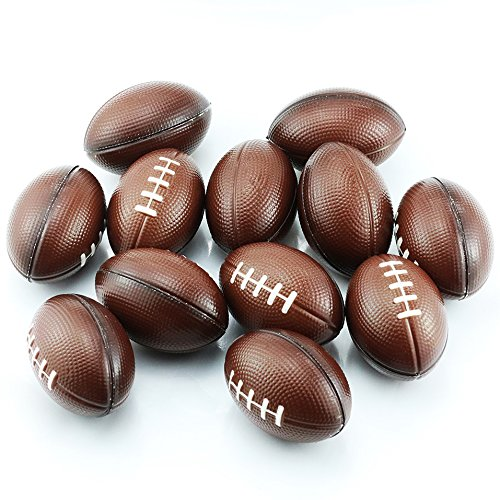 (Etmact Soft Foam Mini Football Stress Balls For Kids 2.5