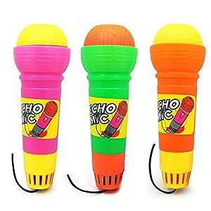 Dontdo Wireless Kids Funny Gift Music Toy Girls Boys Microphone Mic Karaoke Singing Random Color