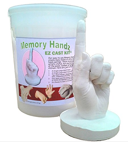 (Memory Handz EZ Cast Kit -- Child to Adult Hand Casting Kit)