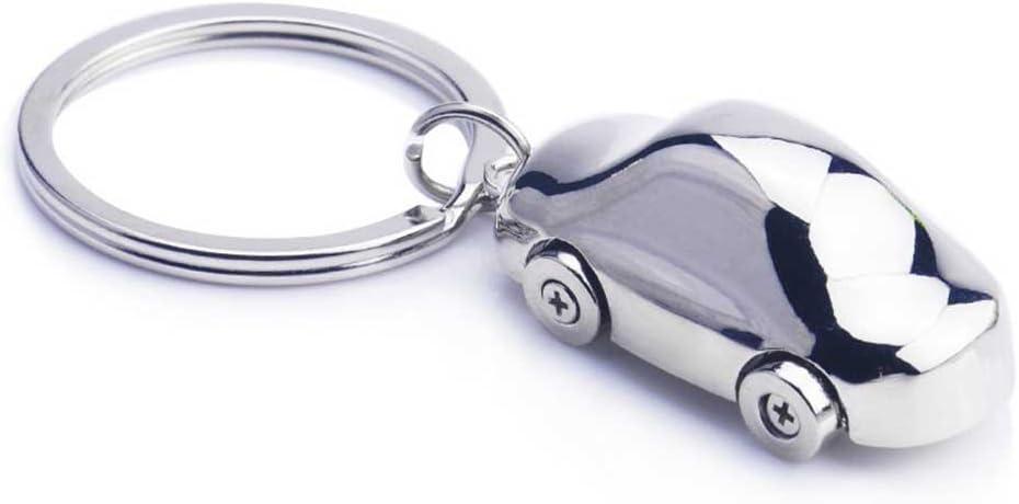 Única forma de coche Llavero Llavero negocio regalo para hombres