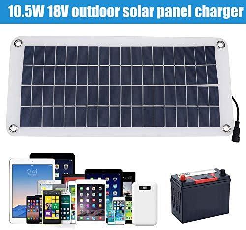 RiToEasysports oplader op zonne-energie, draagbaar, multifunctioneel outdoor-zonnepaneellader voor accu's van mobiele telefoons