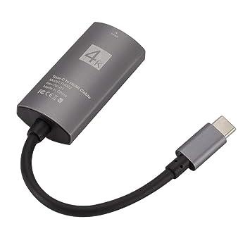 censhaorme F š ¹ r Mac Portátil de Tipo C HD 4 K HD Adaptador de ...