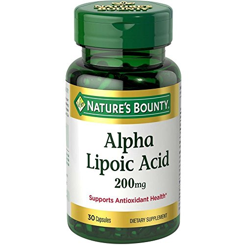 Nature's Bounty Alpha Lipoic Acid 200 mg 30 Capsules For Sale