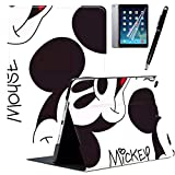 GSPSTORE iPad Mini 4 Case with Auto Sleep/Wake Function Trifold Stand Mickey and Minne iPad case #6