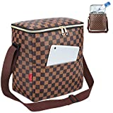 Lunch Bags For Women and Man,Insulated Lunch Box Cooler Bag with Adjustable Shoulder