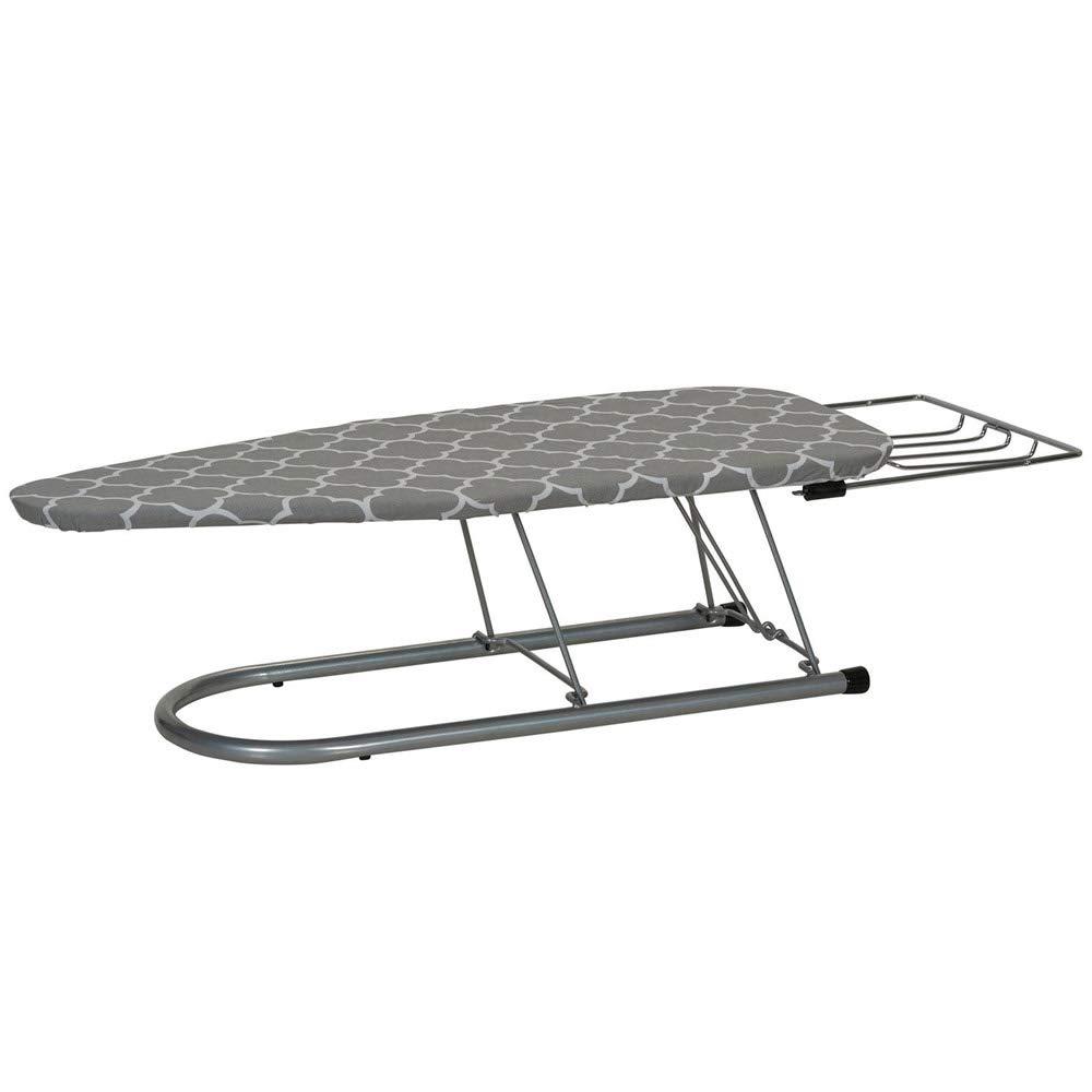HomyDelight Ultra Tabletop Ironing Board 8 lbs 12'' 1.5-8'' 32''