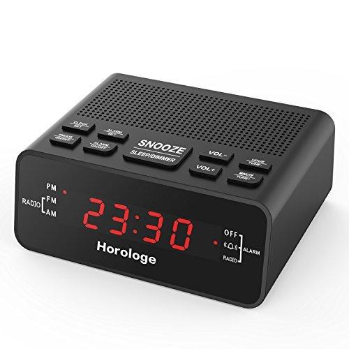 Alarm Clock Radio, Digital Alarm Clock with AM/FM Radio, Sle