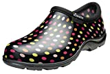 Sloggers Women's Rain and Garden Polka Dot Shoe, Size 8, Multicolor
