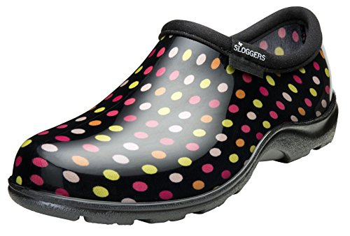 Sloggers Women's Rain and Garden Polka Dot Shoe