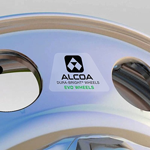 Alcoa 24.5'' x 8.25'' Dura Bright EVO 10 Lug Front Steer Wheel (983631DB)