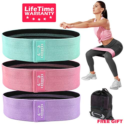 COOBONS Resistance Bands for Legs and Butt