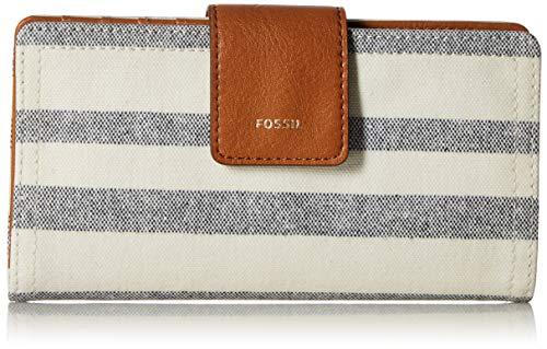 Fossil Logan RFID Tab Wallet, Blue ()
