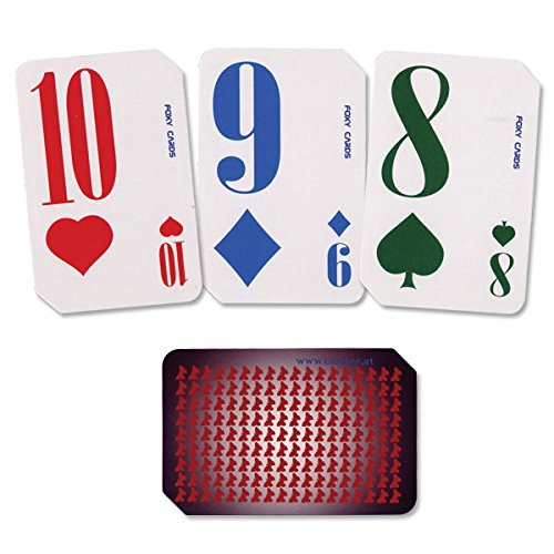 Playing Cards Deck for Foxy Reader Talking Label Reader Caretec