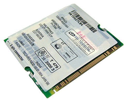 DELL - Dell 10-100-56k Mini PCI Combo 3CN3AC1556 NEW 6F553 V90 Intrnl NIC Laptop Modem (Modem 56k Combo)