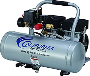 California Air Tools 2050A Ultra Quiet and Oil-Free 1/2 HP