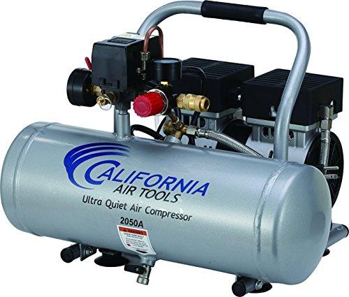 2050A Ultra Quiet and Oil-Free 1/2 HP 2.0 -Gallon Aluminum Tank Air Compressor ()